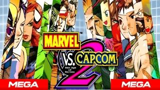 Descargar Marvel vs Capcom 2 - Todo Desbloqueado 1 link MEGA + Gameplay  [🎮]