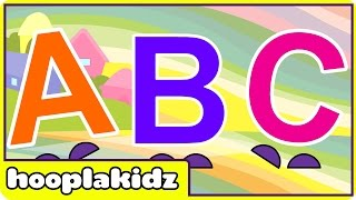 ABC Song | HooplaKidz Nursery Rhymes & Kids Songs