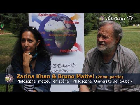 Zarina Khan & Bruno Mattei - Dialogues en humanité 2014 (2ème partie)