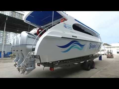 Sirilanta speed boat by NPSK Marine 250HP*3