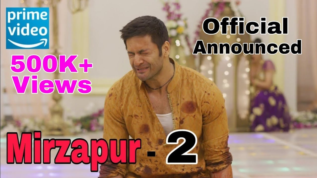 Download Mirzapur - 2 Announcement ये होगी कहानी / Amazon Prime /