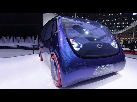Internet-connected electric concept car unveiled at Guangzhou auto show