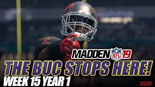 Madden NFL 19 Franchise | THE BUC STOPS HERE! Week 15 Ravens vs Buccaneers | Ep.15