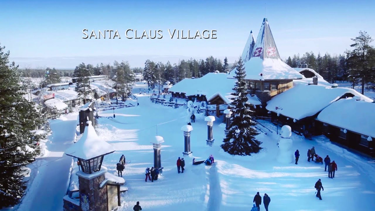 Rovaniemi in Lapland Finland by air RC helicopter travel