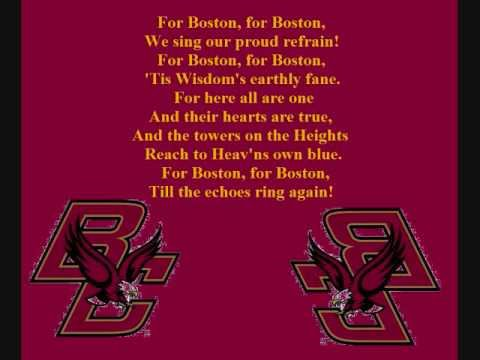 Boston College Fight Song