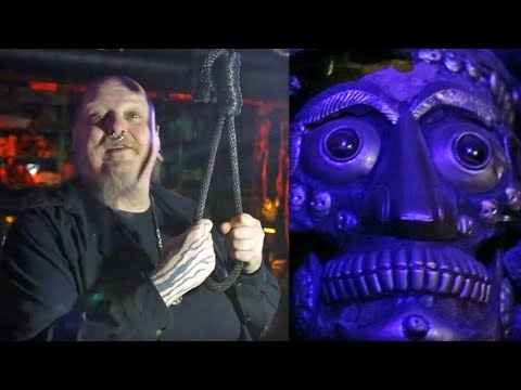 Human Skulls, Serial Killer Art & Nooses - Inside Paul Booth's Tattoo Studio