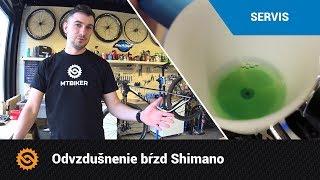 Odvzdušnenie bŕzd Shimano | SERVIS - MTBIKER.SK