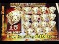 $1 LEFT into BIG WIN! ON BUFFALO GOLD SLOT MACHINE! - YouTube