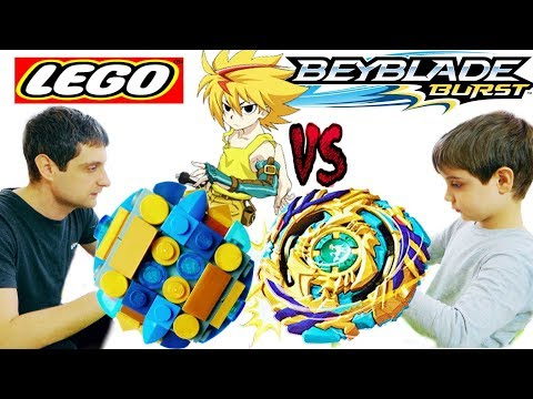 Бейблейд Берст Fafnir F3 Hasbro VS Fafnir F3 Lego Волчок из Лего BeyBlade Burst God