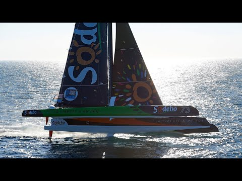 Record Breaking Skippers: Thomas Coville Sets Solo Circumnavigation Record