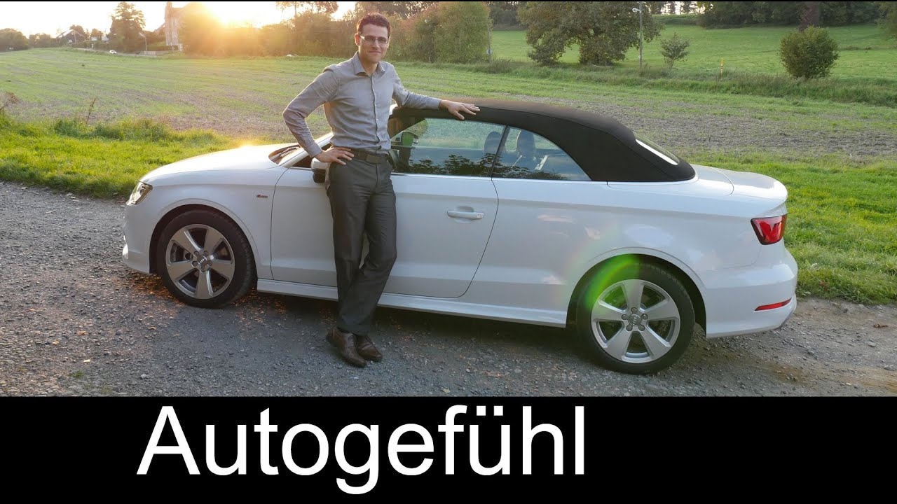 Audi A3 Convertible 2015 Roof Opening Reference Golf