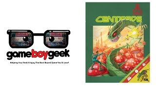 Centipede Review with the Game Boy Geek