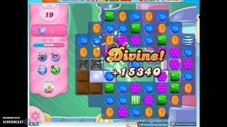 Candy Crush level 770 Audio Talkthrough, 2 Stars 0 Boosters