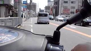 原付ツーリング(50cc)出雲大社大阪分祠