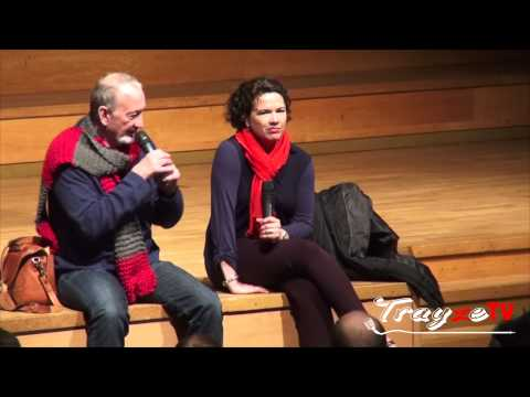 Robert Englund & Heather Langenkamp Q&A Part.1 2013.