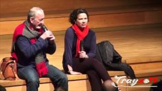 Robert Englund & Heather Langenkamp Q&A Part.1 2013.