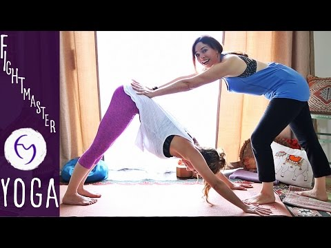 Yoga for Strength (Intermediate) With Shireen Kaviani and Fightmaster Yoga