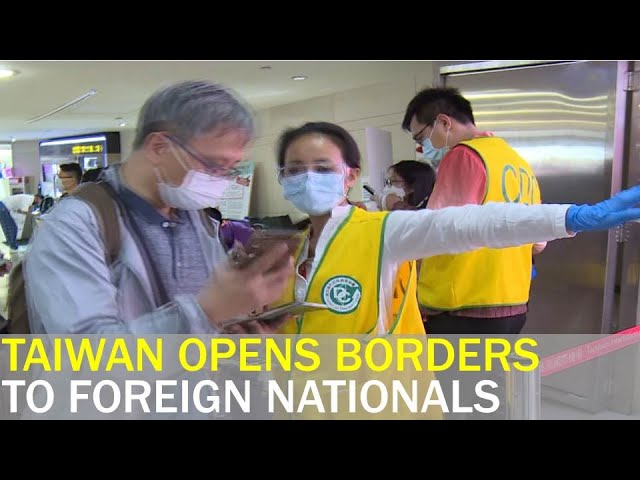 Taiwan opens borders to foreign nationals on essential trips   Taiwan News   RTI
