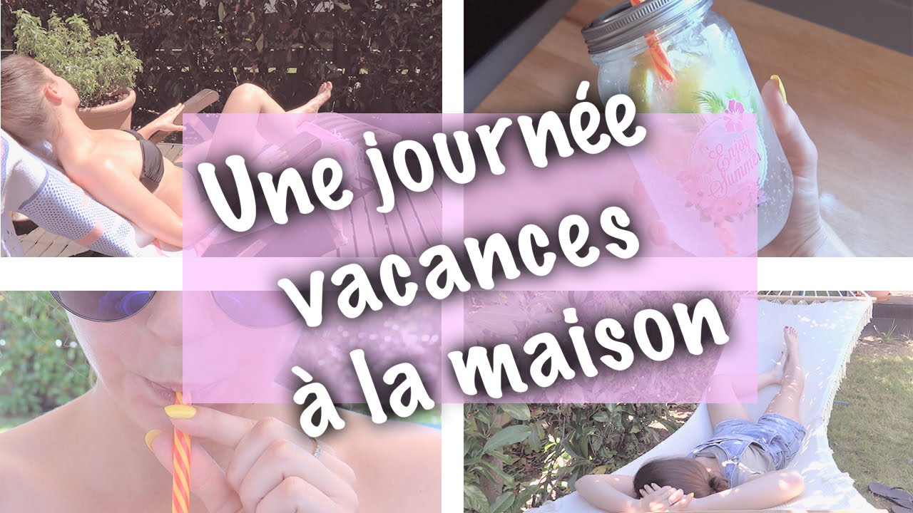 Une journ e vacances la maison double lu youtube for Alan stivell journee a la maison