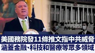 美國務院11推文指中共威脅 專家:或有意外行動|@新唐人亞太電視台NTDAPTV |20201219 - YouTube