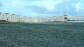 Stormvloedkering, storm surge barrier, Maeslantkering