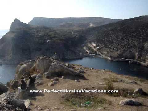 Ukraine Vacations - Crimea - View of Balakclava & Black Sea