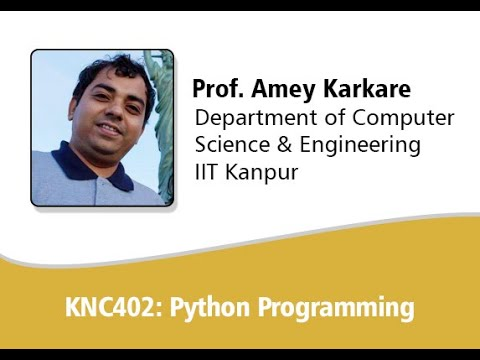 Python Lectures 01 KNC402