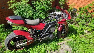 Загадочный мотоцикл не заводится. Год искали искру.