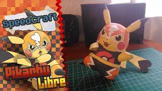 Pokemon Papercraft ~ Pikachu Libre  ~