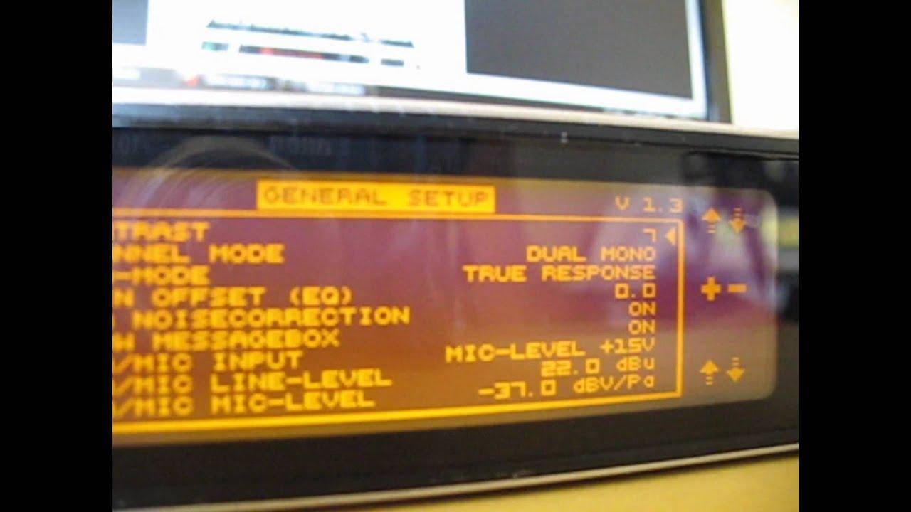 ultracurve pro deq2496 firmware