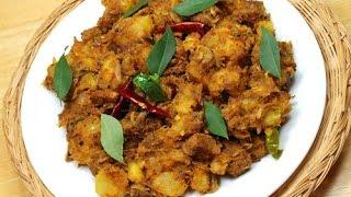 Kappa  /  Tapioca Biriyani / Tapioca Beef Mix Kerala Style.....