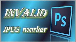 CZ _ Jak opravit Chyba neplatného markeru JPEG Photoshopu