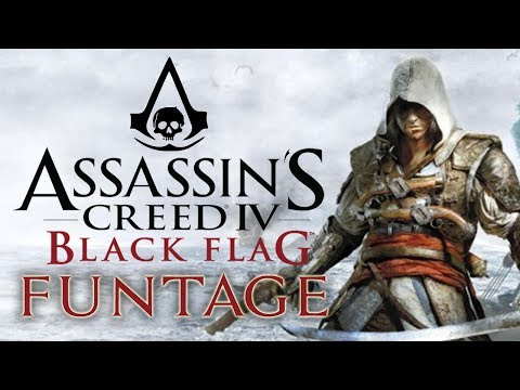 Assassin's Creed 4: Black Flag - Funtage! - (AC4 Funny Moments)