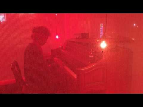 """Manuel Lima's """"Red Light Piano"""" - The Cube, West Hollywood - Aug. 14, 2016"""