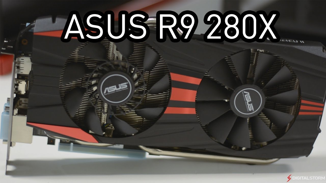 ASUS R9 280X DirectCU II TOP - Review Benchmarks and Unboxing