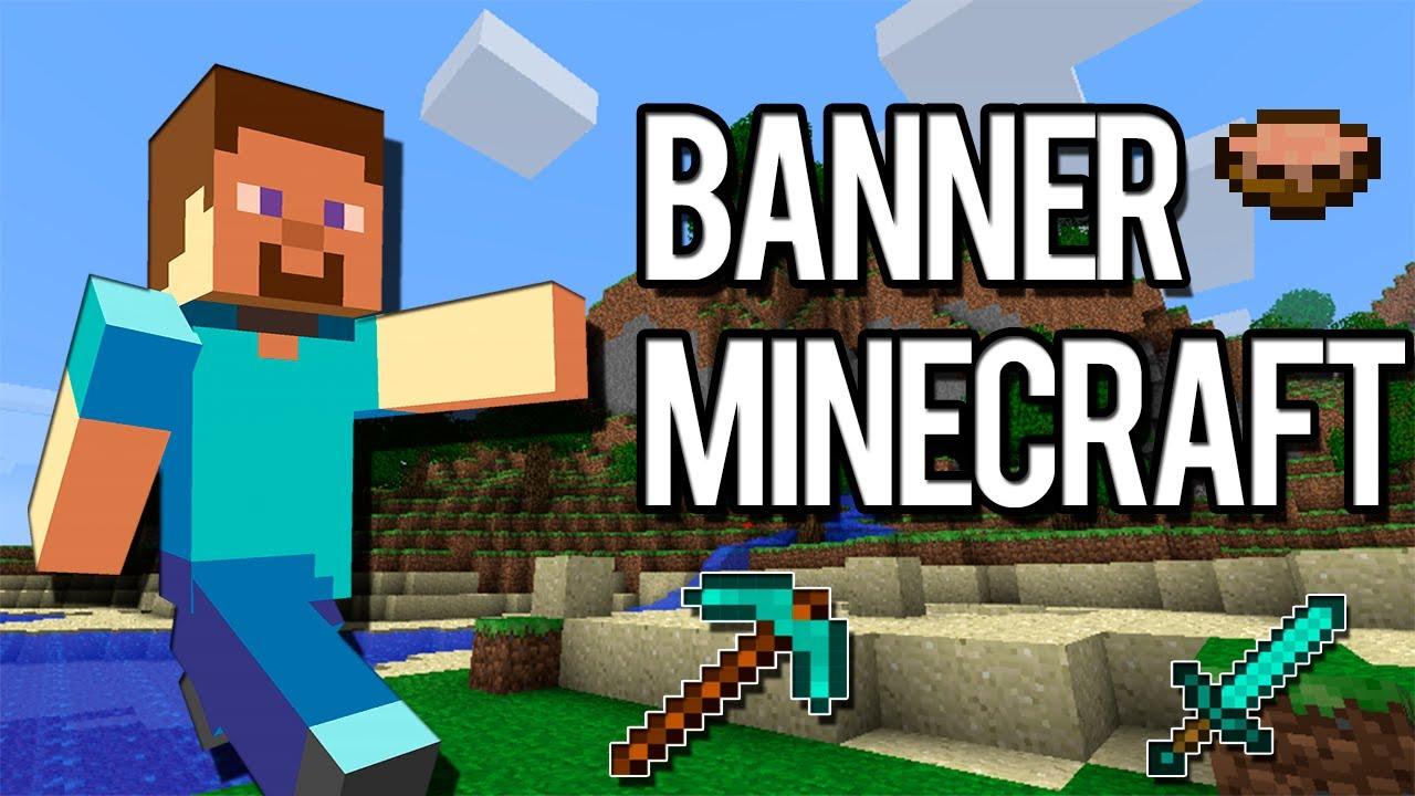 Banner Minecraft (Download Na Descrição)