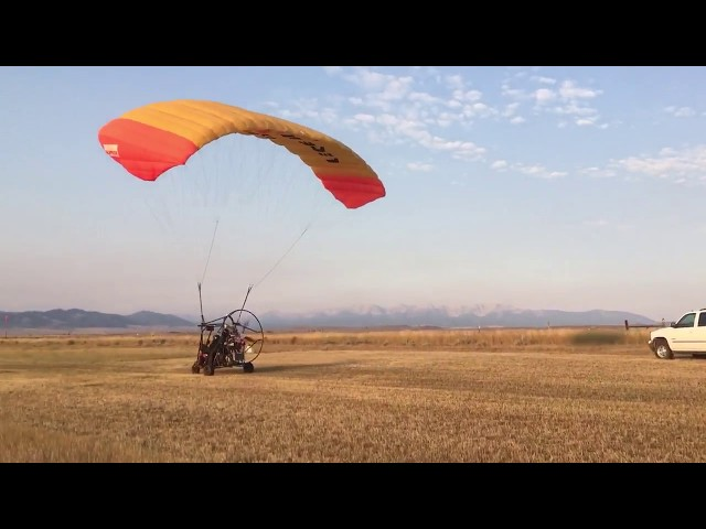 PPC Takeoff in Wilsall, MT