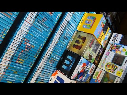 UPDATED World's biggest Wii U game collection