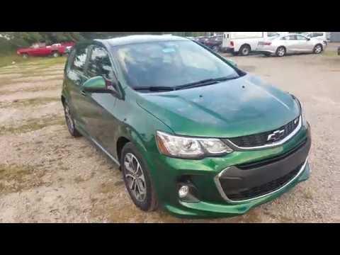 2018 Chevrolet Sonic Hatchback LT - IVY METALLIC - Full ...