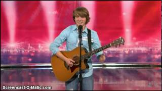 Repeat youtube video America's Got Talent - Somewhere Over the Rainbow