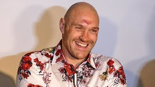 Tyson Fury MORNING AFTER PRESS CONFERENCE | vs. Deontay Wilder