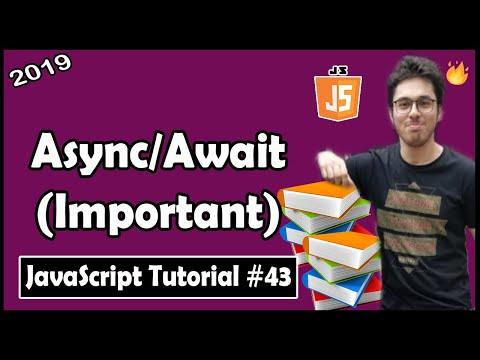 Async/Await in Javascript | JavaScript Tutorial In Hindi #43 thumbnail