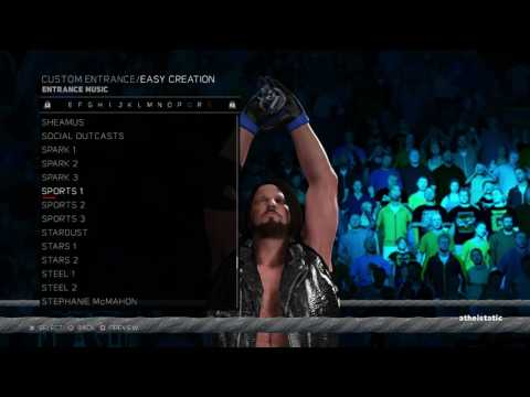 WWE 2k17 Generic Entrance Music