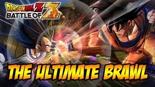 Dragon Ball Z Battle of Z - PS3 / X360 / PSVITA - The Ultimate Brawl (Trailer)