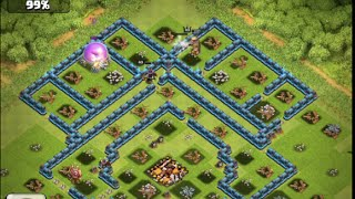 Clash of Clans - PERFECT WARS! - 3 Star Attacks Every Time!