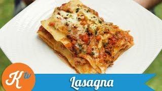Resep Lasagna (Lasagna Recipe Video)  STANLEY MARCELLIUS