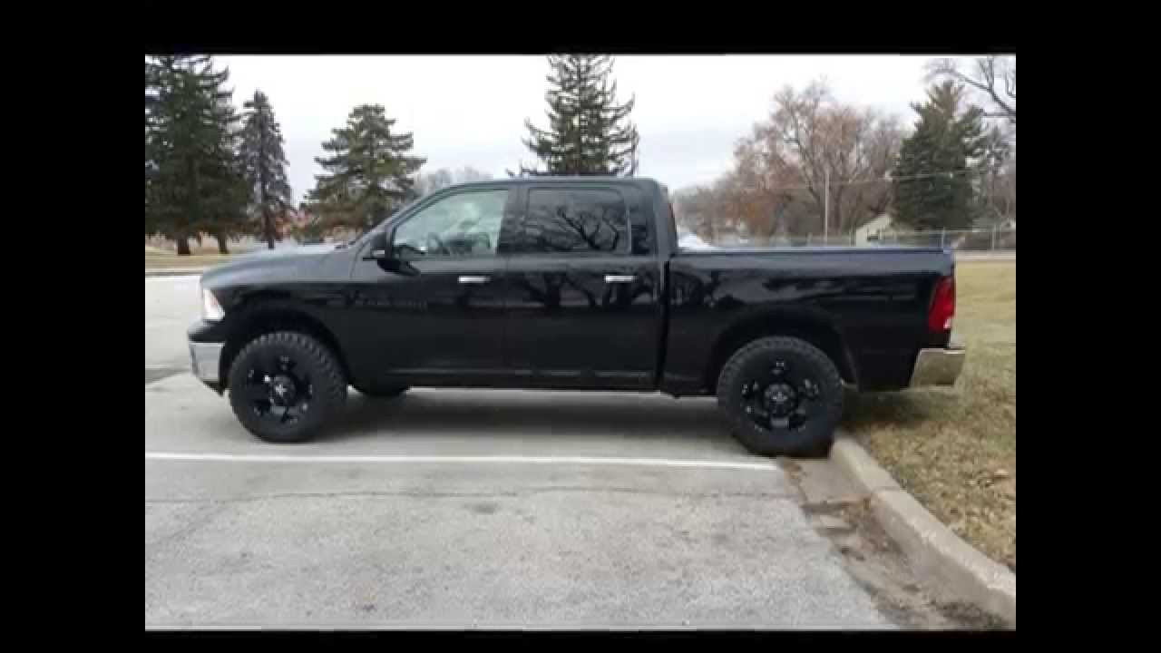 Top Gun Customz level kit install 2012 Ram 1500 - YouTube
