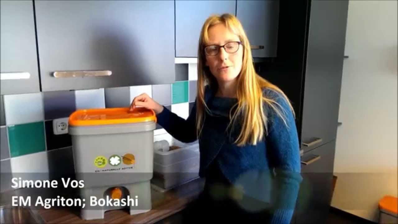 Met de Bokashi keukenemmer fermenteer je eigen keukenafval in huis