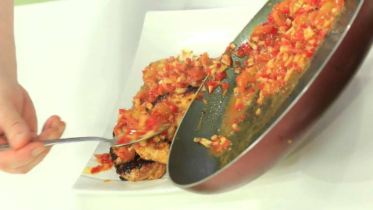 صدور دجاج الخشتية - سلطة بنجر و مانجو : طبخة ونص حلقة كاملة