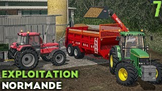 Farming Simulator 17 - Exploitation Normande - Un nouveau partenariat ! (#7)